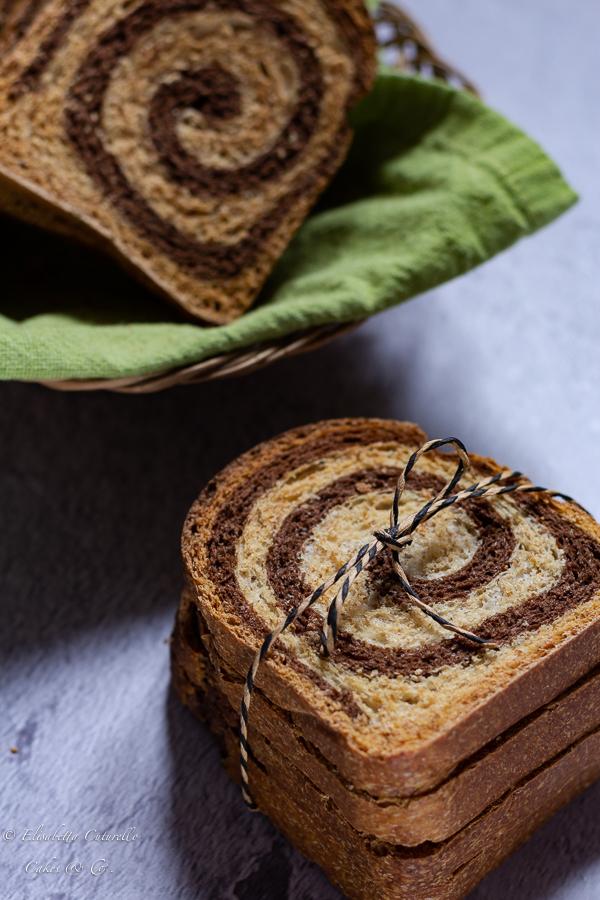 Fette biscottate semi integrali al cacao