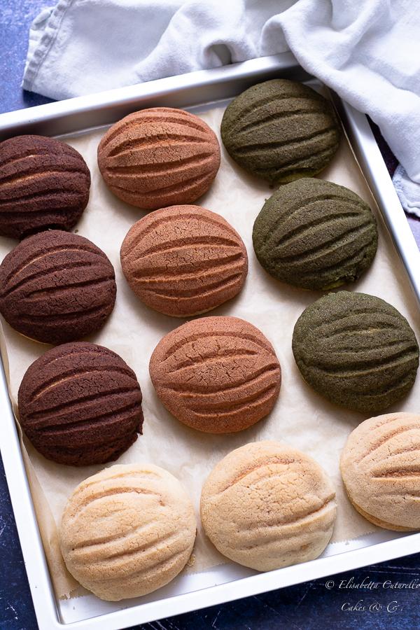 Las conchas pane dolce messicano