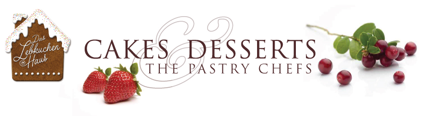 Cakes and desserts header