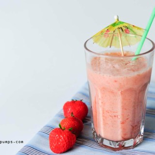Sunday Smoothie: Strawberry Colada