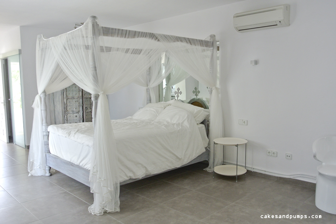 Bedroom 5 bed of house casa Blanca Ibiza