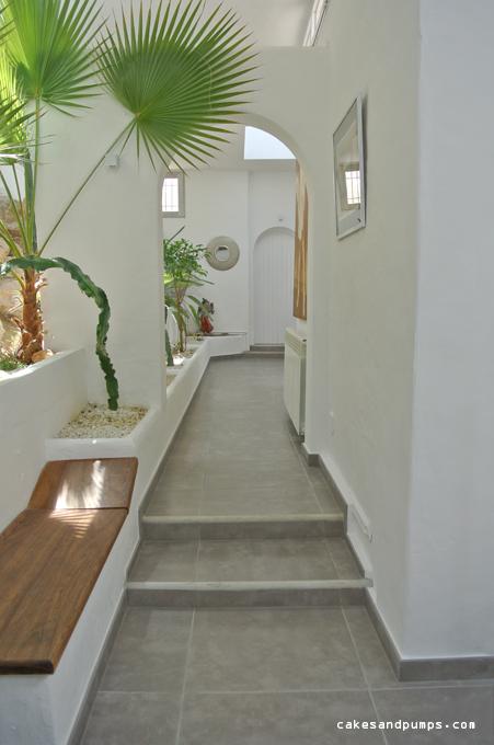 Corridor House casa blanca Ibiza