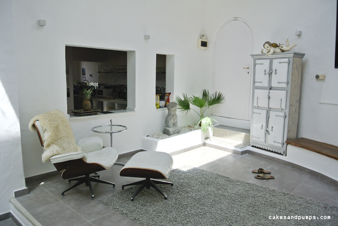 House Casa Blanca Ibiza Living room part 2
