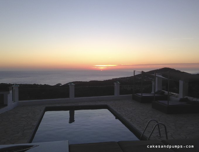 House Casa Blanca Ibiza sunset