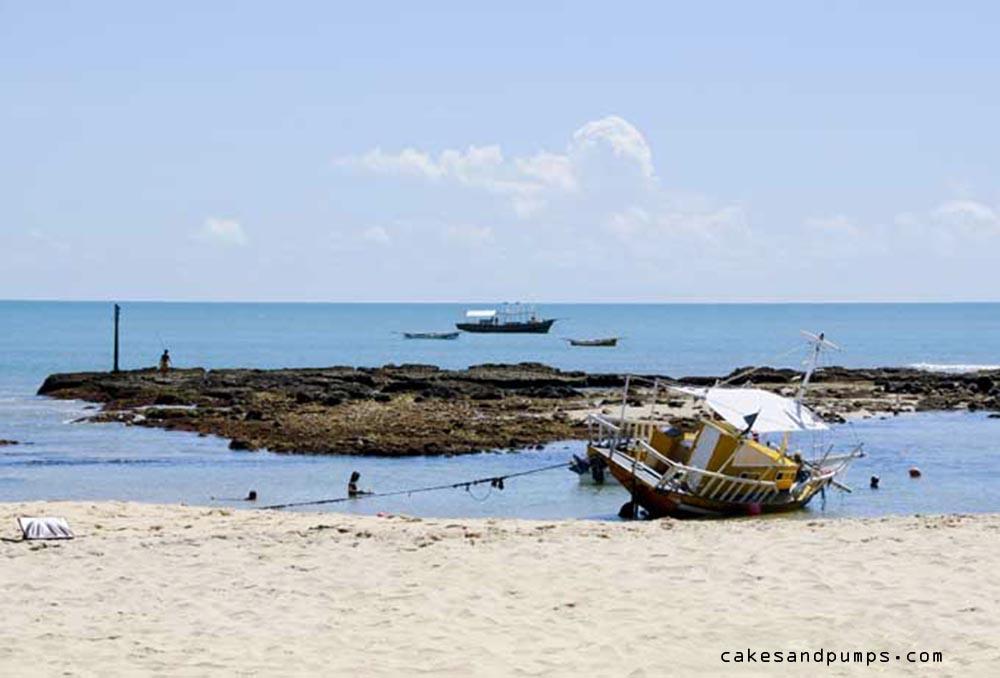 Nice beach in Brasil