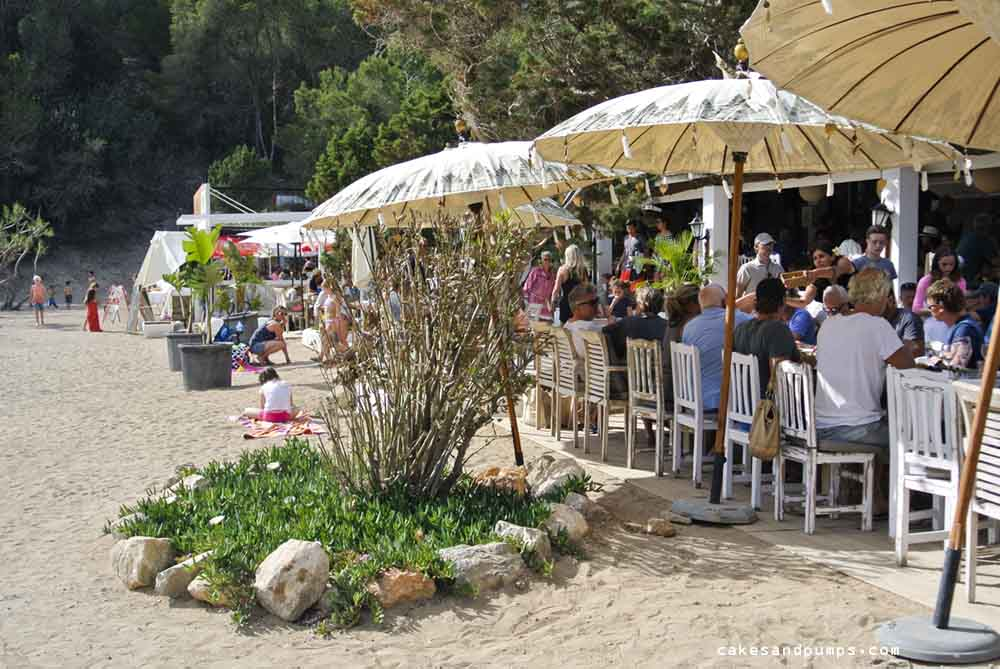 Cala Benirras restaurant Elements Ibiza