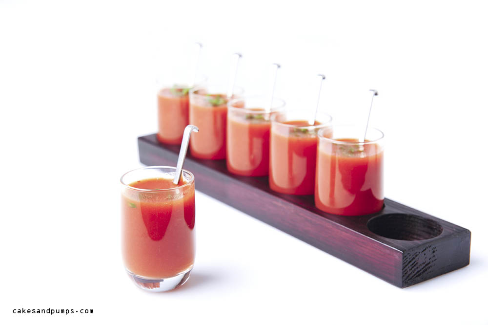 You can use the tomato juice  with pepper also as an appetizer