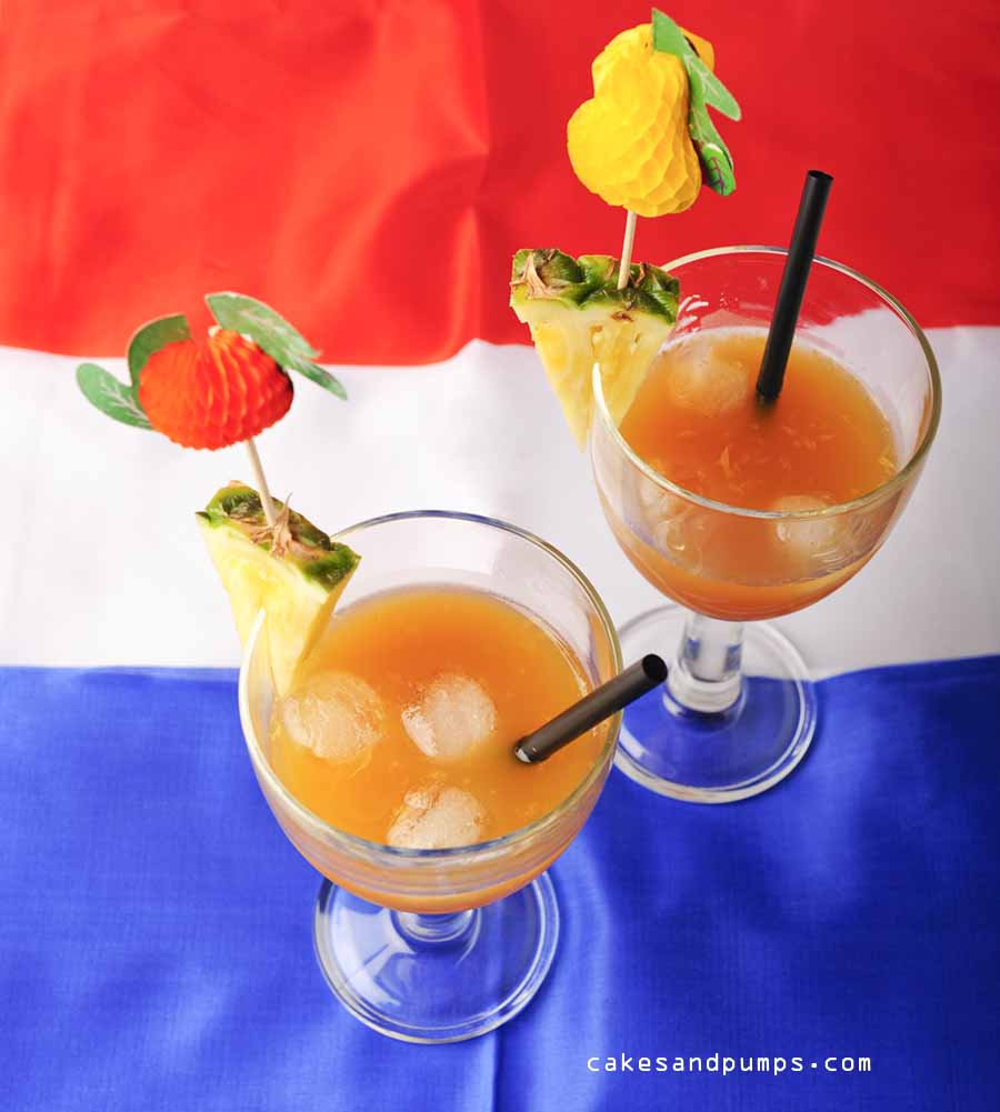 tail Friday: an Orange Plantation - Cakes and Pumps on punch in a glass, punch splash, punch beverage, punch recipes, punch soda, punch with fruit,