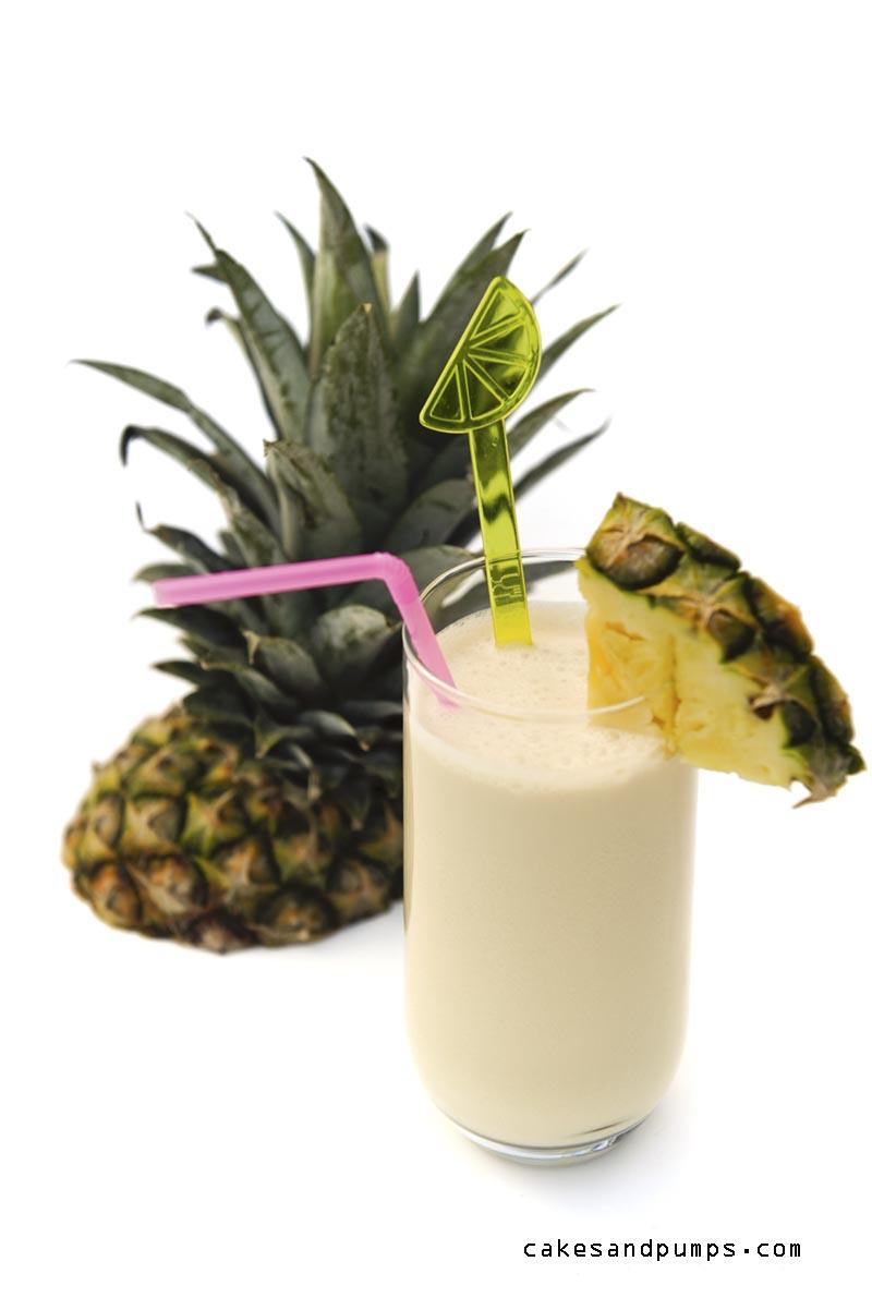 Een Pina Colada met rum, ananas en kokosmelk