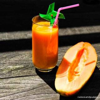 Smoothie for sunday smoothie papaya banana