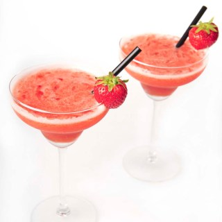 Strawberry Daiquiri with rum