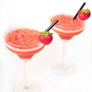 Strawberry Daiquiri with rum