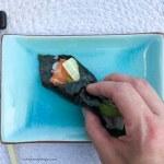 Sushi maken - de rol is klaar, cakesandpumps.com