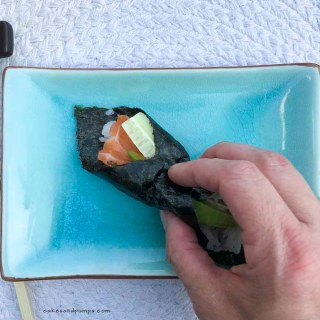 Making super easy Sushi Japanese style
