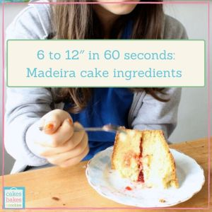MADEIRA CAKE RECIPE