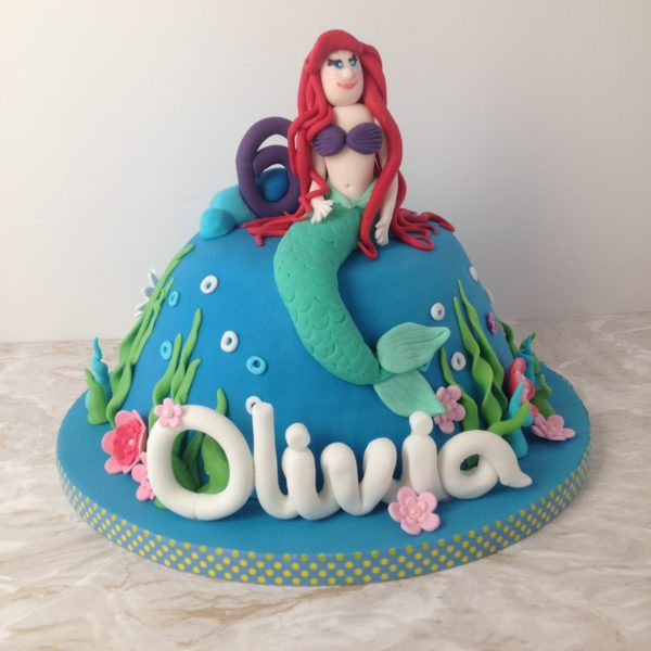How not to make a mermaid cake