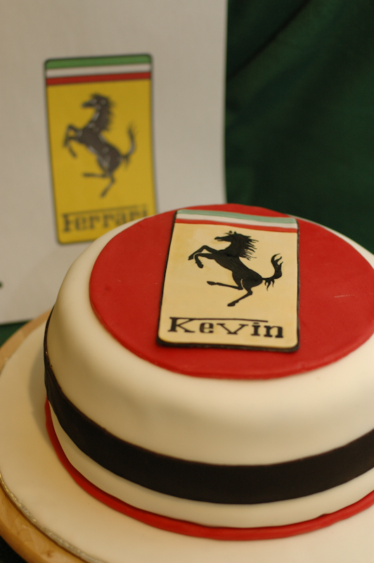 Ferrari Fabulous Cakes By Caralin