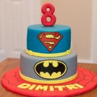 A Super Superhero Cake