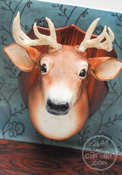Wall-Mounted Deer Head Cake