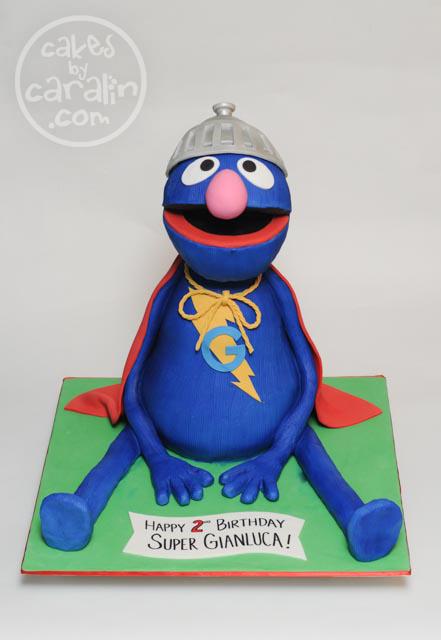 Super Grover Cake