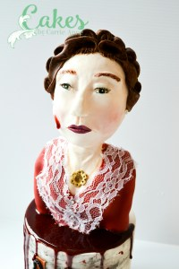 Madame Delphine Lalaurie Cake