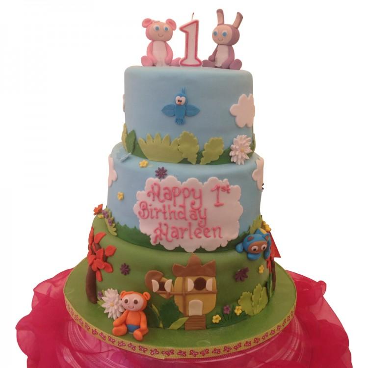 3 Tier Waybaluu Cake Kids Cake In Leicester