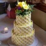 Round wedding cake, custom wedding cakes, portland, wilsonville, contemporary wedding cakes
