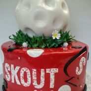 Corporate cake portland, or, logo cake