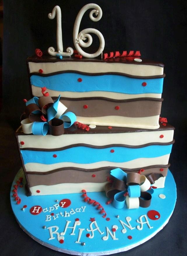 Cool Kid Birthday Cake Portland Wedge Teen
