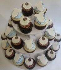 Boy Baby Shower Cupcakes ORegon