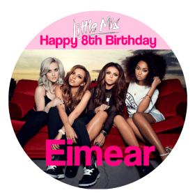 Little Mix Edible Cake Topper