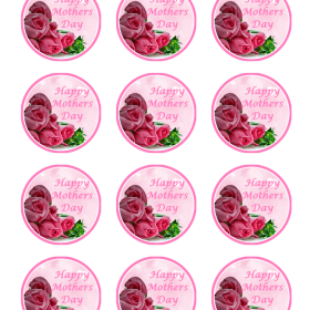 mothers day edible cake toppers edible pictures. Black Bedroom Furniture Sets. Home Design Ideas
