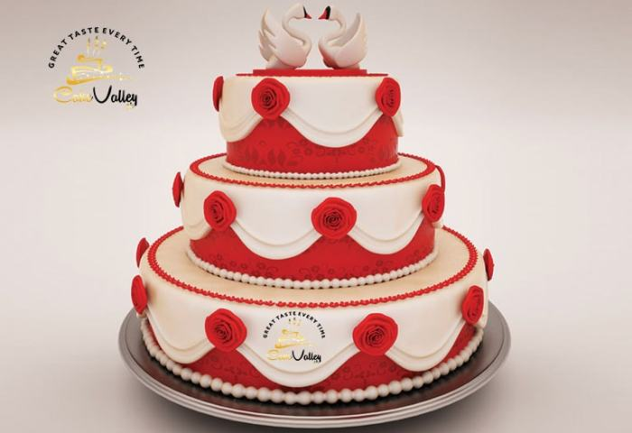 Best Wedding 3d Cake Online Cake Order And Delivery In Lahore