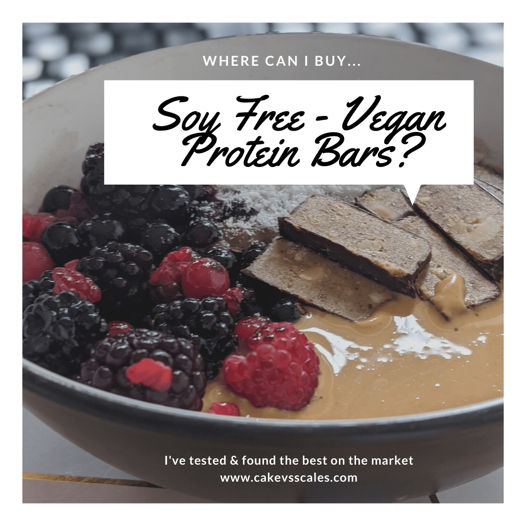 Where to find soy free high protein vegan bars