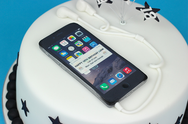 Iphone 6 18th Birthday Cake Cakey Goodness