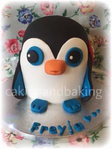 Beanie Boos Penguin Cake