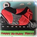 Motorbike Cake
