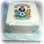 Coventry City Birthday Cake