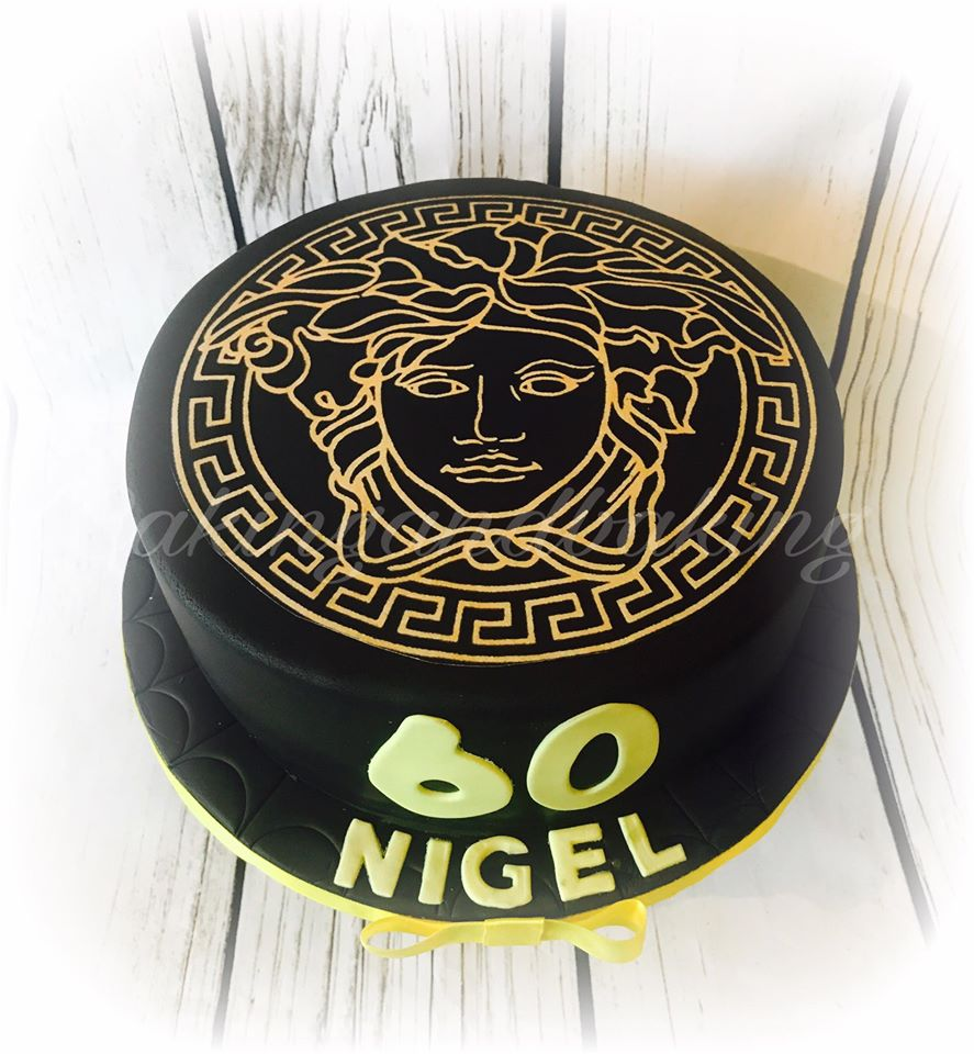 Versace Birthday Cake Caking And Baking Sweet As Leamington