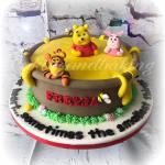 Winnie The Pooh & Friends Cake