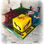 Marvel Superheroes Cake