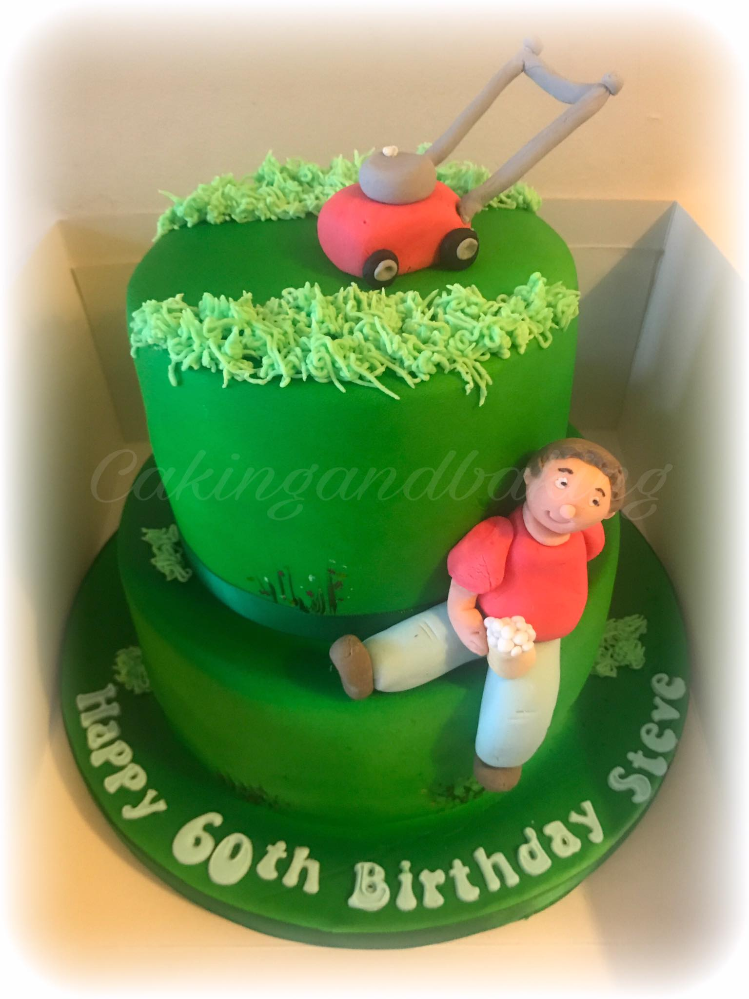 Gardening Cake • Caking and Baking • Sweet As • Leamington Spa ...