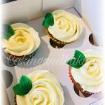 Gluten Free Rose Cupcakes