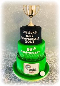 National Golf Championship Cake
