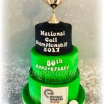 National Golf Championship Cake