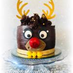 Chocolate Reindeer Cake