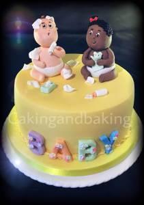 Cheeky Babies Cake