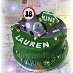Driving Test Cake