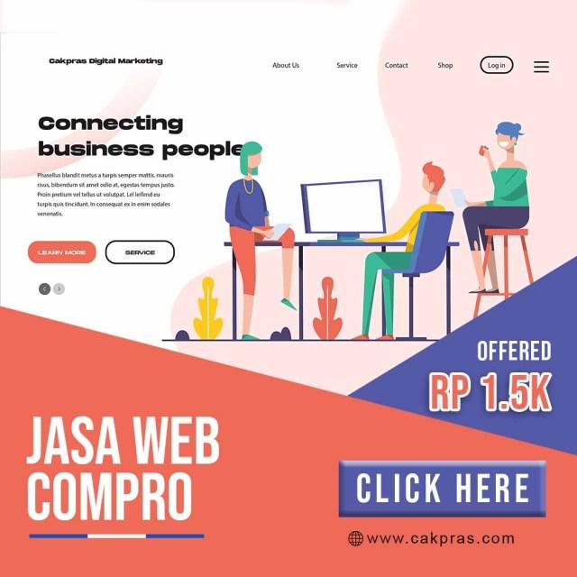 Jasa web compro