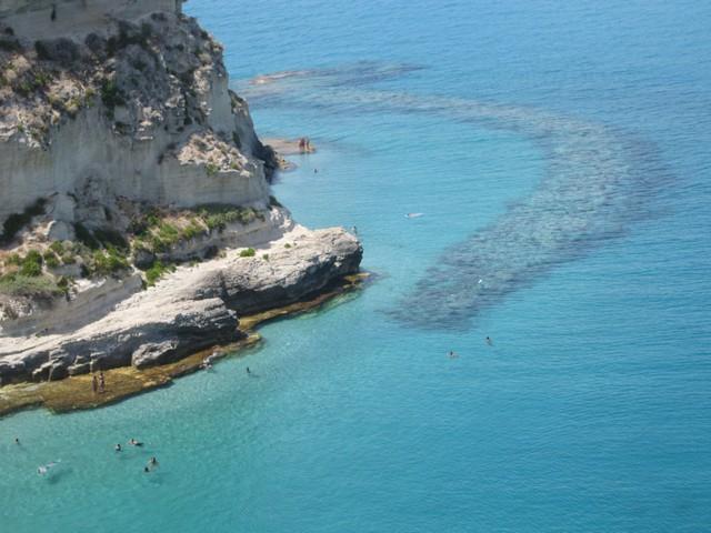 Spiaggia grotta del Palombaro